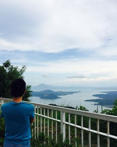 View of Taal from Sky Ranch.