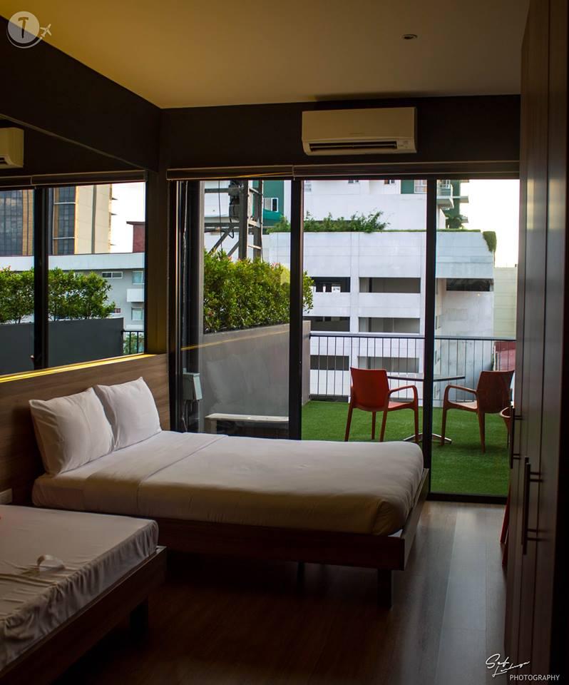 Azumi Hotel's Garden Room