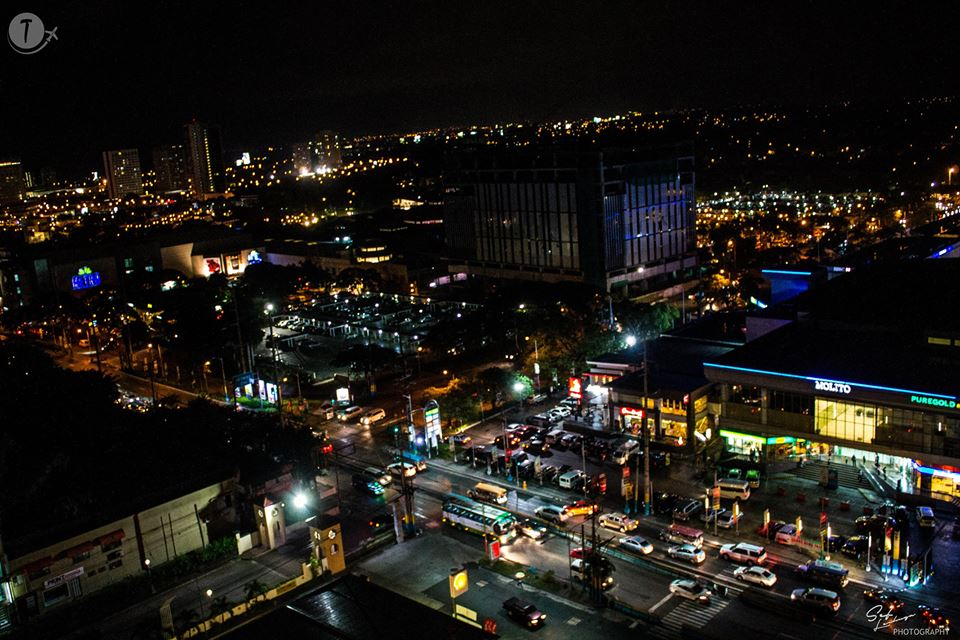 View of Alabang from Penthouse