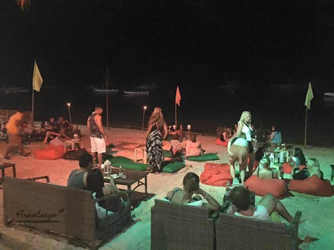 Alona Beach Night Life
