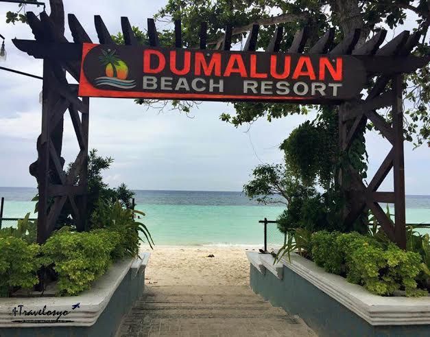 Dumaluan Beach Resort Beach View