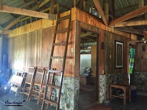 View inside the Bungalow house
