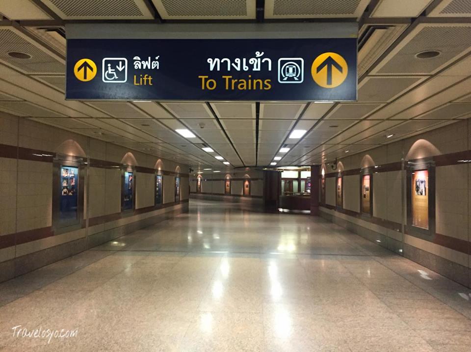 Bangkok Mrt Station