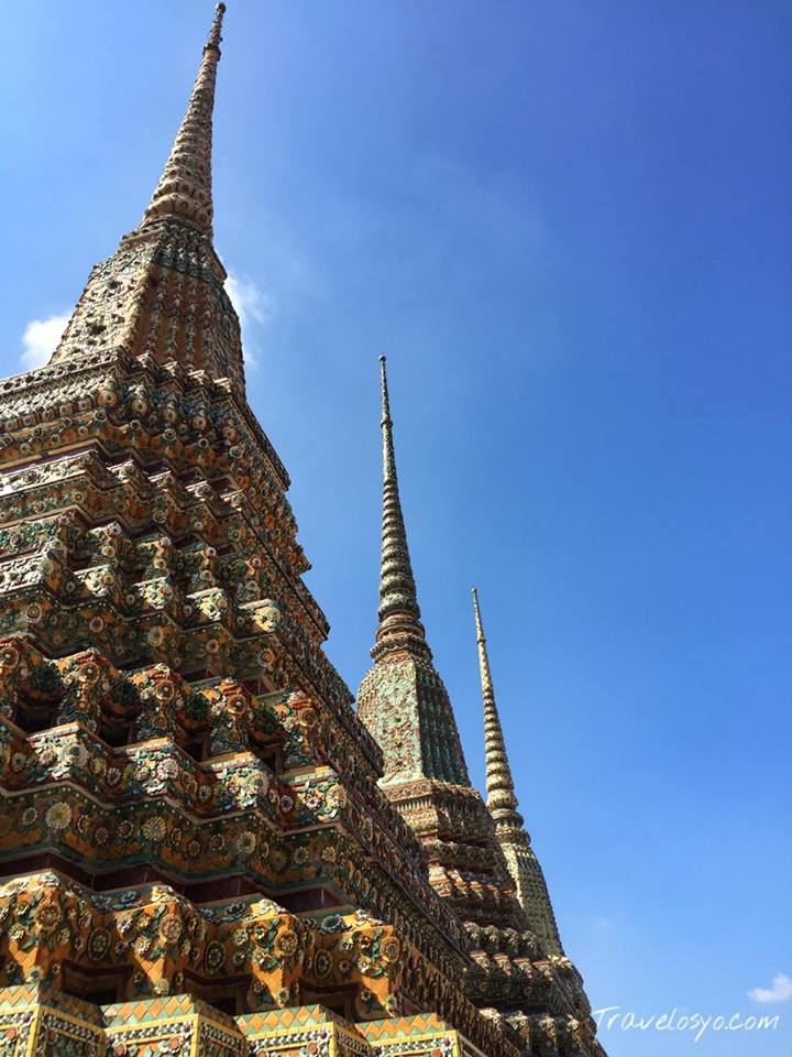 Inside Wat Pho comples